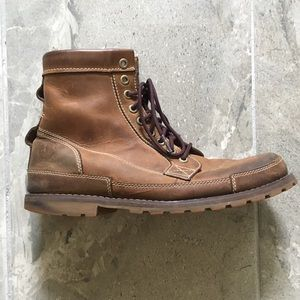 Timberland Leather 6 Inch Boots Men 8.5
